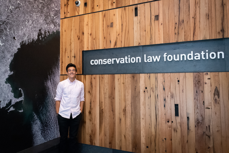 Ben at the Conservation Law Foundation